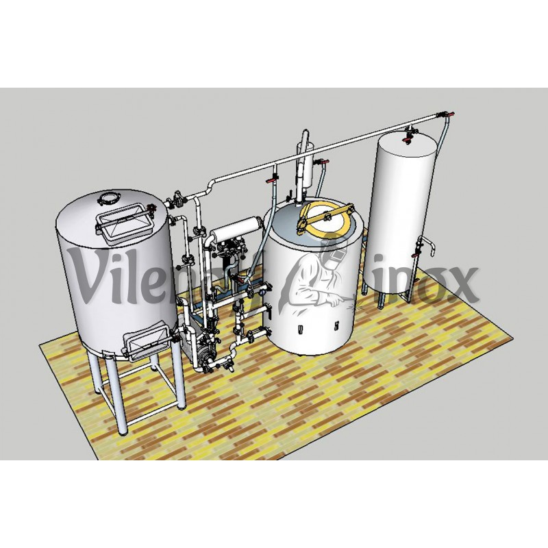 Пивоварня 350 литров