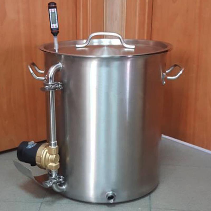 Пивоварня 40 л. с  феромагнитным дном