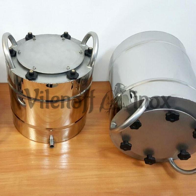 Перегонный куб 16-32 литров с фланцевой крышкой