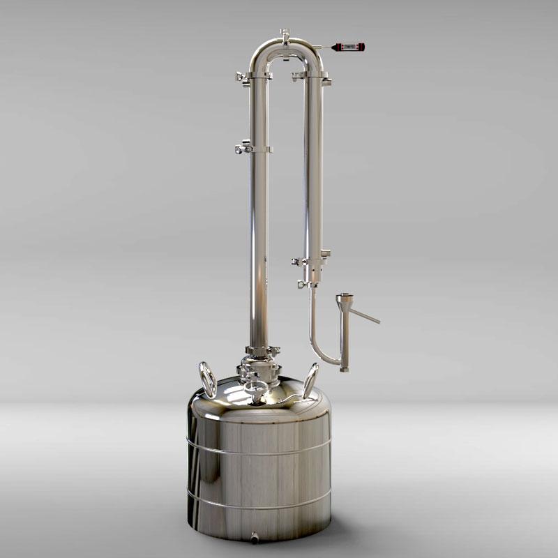 Дистиллятор 50 литров с укреплением и попугаем
