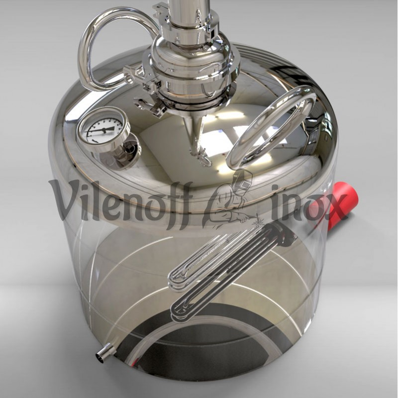 Дистиллятор 50 литров с жидкостным отбором