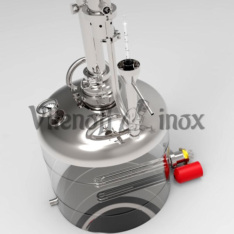 Дистиллятор 50 литров с попугаем