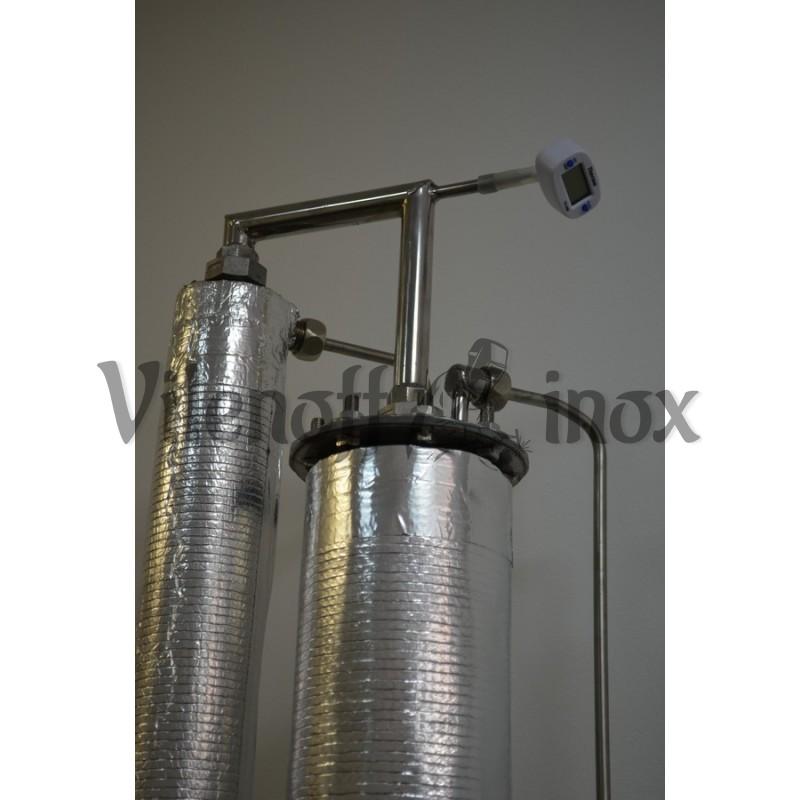 Непрерывная бражная колонна НБК  6 кВт (снята с производства)