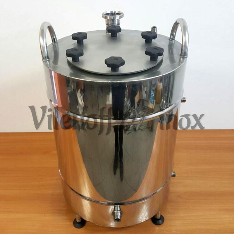 Котел косвенного нагрева 62 литра без давления с фланцем и чиллером