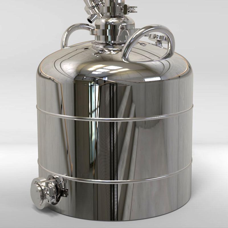 Перегонный куб со сферическим верхом 50 литров