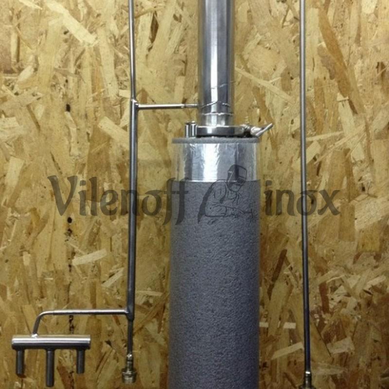 Ректификационная колонна 50 мм / 1500 мм с распределителем