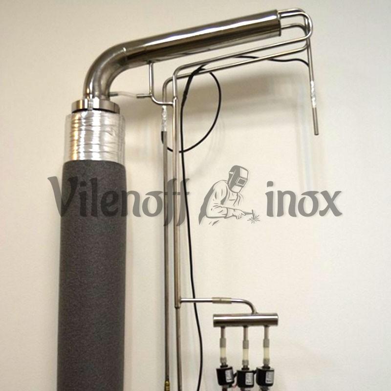 Ректификационная колонна 50 мм + куб 72 л + Pandora-GFX slim